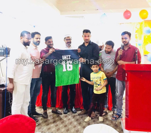Gulf, News, Bahrain, United kasaragod, Ifthar, Jersey released, united kasaragod cricket club jersey  release and ifthar party.