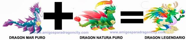 como sacar el dragon legendario en dragon city combinacion 2