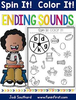 https://www.teacherspayteachers.com/Product/Ending-Sounds-Spin-It-Color-It-2632221