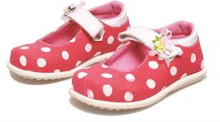 Sepatu Anak Perempuan Aksesoris Bunga  BHN 462