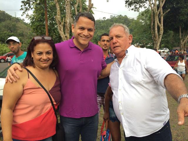 Em campanha, Pablo Barrozo se reúne com lideranças em Muniz Ferreira