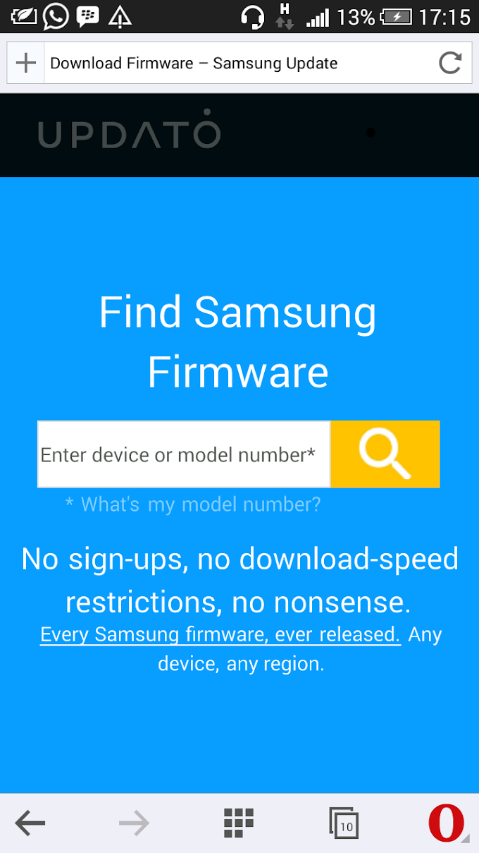 Where to Download Samsung Stock Firmware without Download Limitations