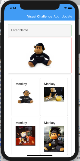 Xamarin Monkeys: Xamarin Forms - Working with Material Visual