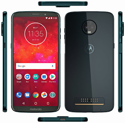 Moto Z3 Play Press image leaked