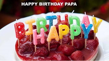 Happy Birthday Cake for Papa