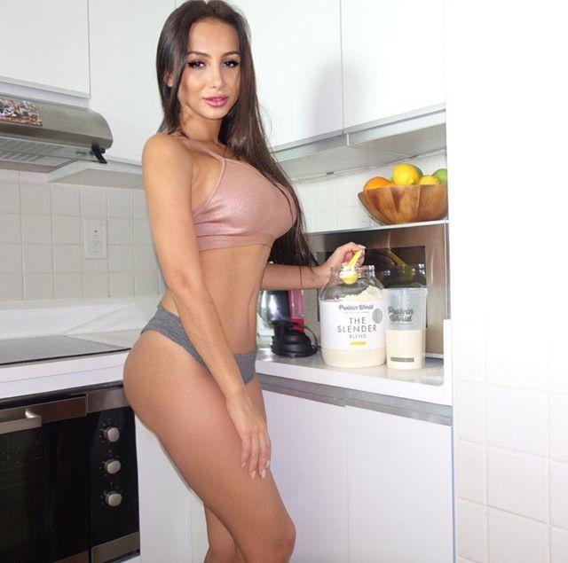 Fitness Model Sitorabanu Israilova Instagram