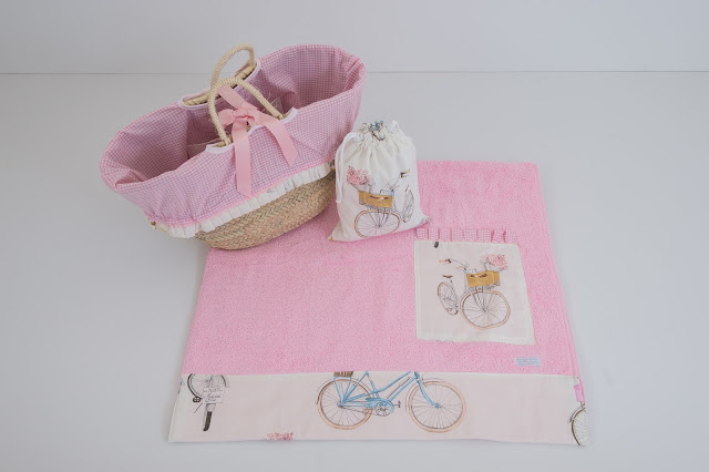 toalla playa bicicletas