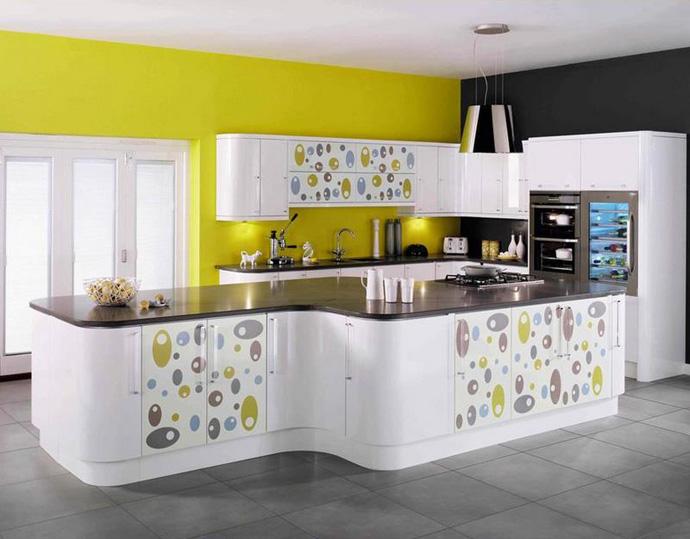35 ideias de cozinhas modernas design innova for Modular kitchen in small space