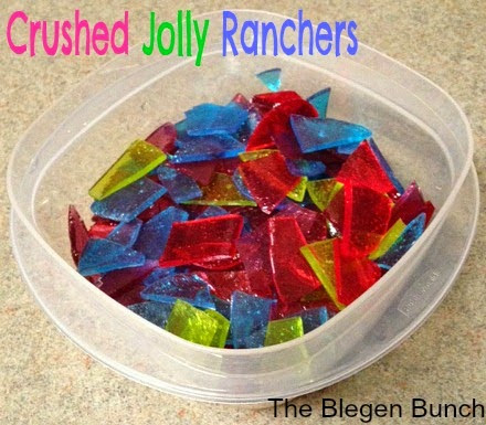 Crushed Jolly Ranchers for Cute Dessert Toppings