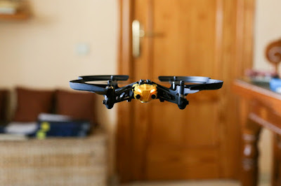 Flying Quadcopter