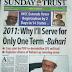 2019: Ko shugaba Buhari ya yi amai ya lashe kenan ?