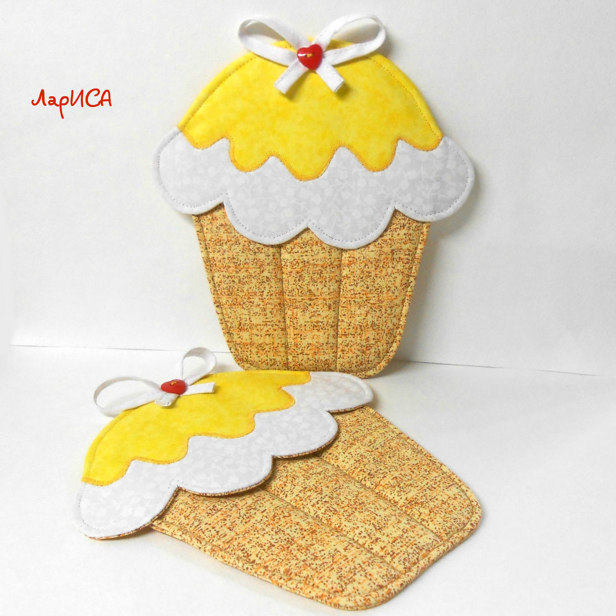 pot holders cupcakes