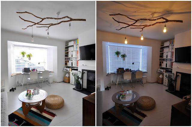 Tree branch chandelier   mamaisdreaming.blogspot.co.uk
