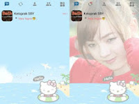 Download BBM Mod Hello Kitty v3.0.1.25 Terbaru