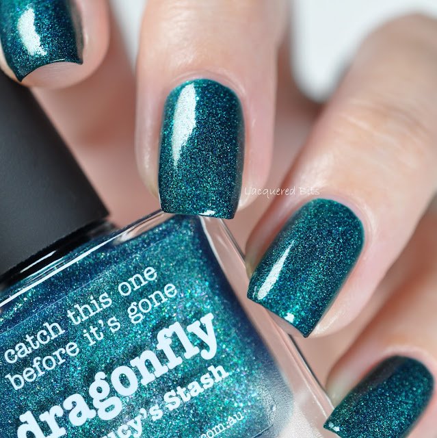 Dragonfly piCture pOlish