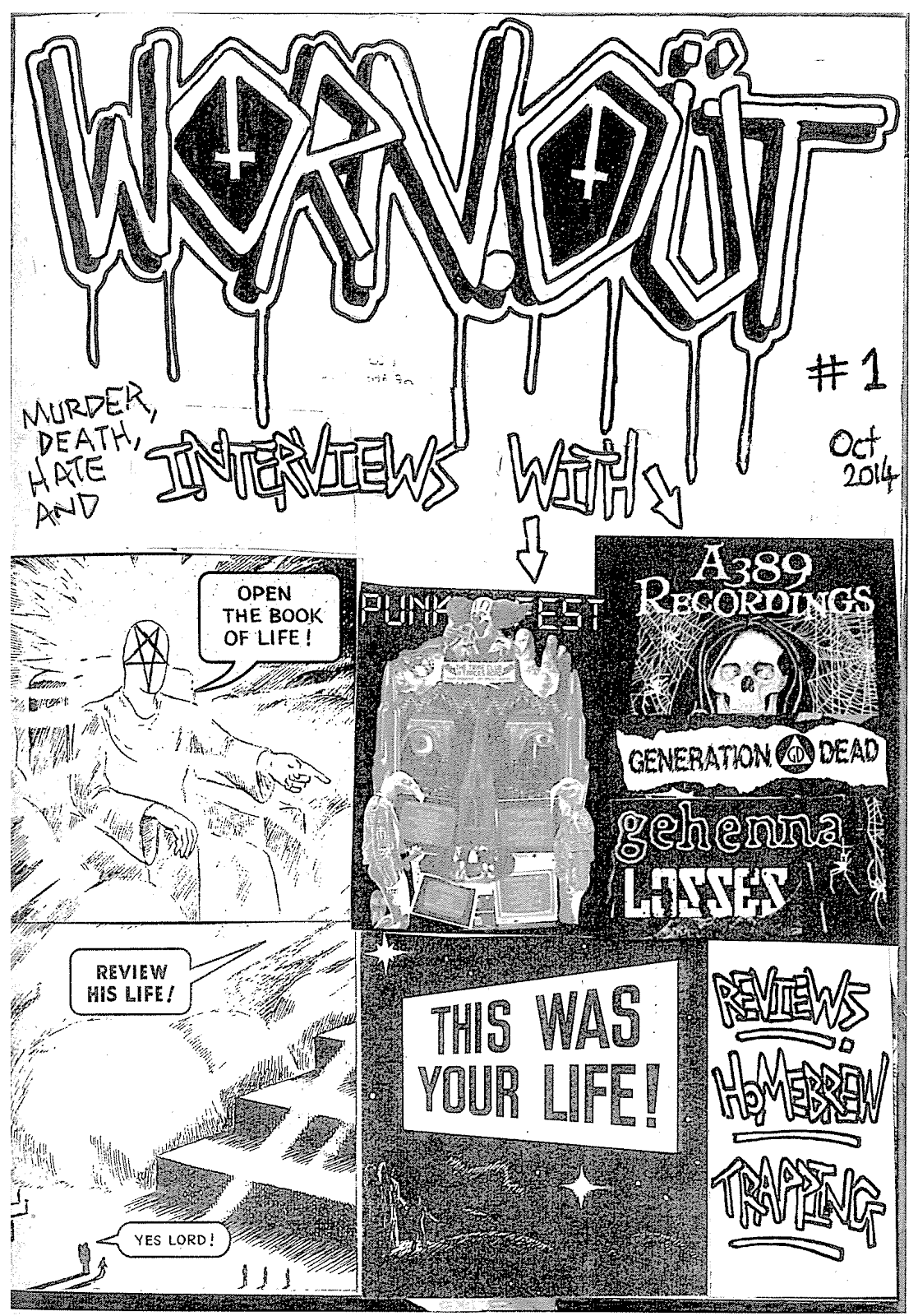 Worn Out Zine #1