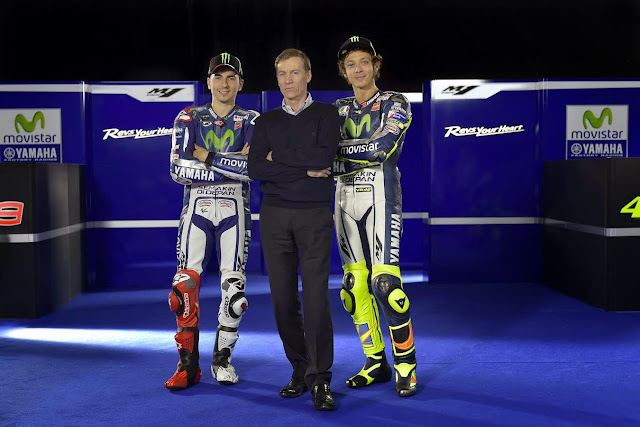 berita motogp Bos Yamaha : Hubungan Lorenzo-Rossi akan tetap dingin