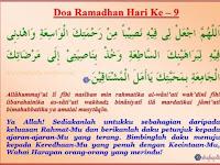 Doa Harian Ramadhan Hari 1-10