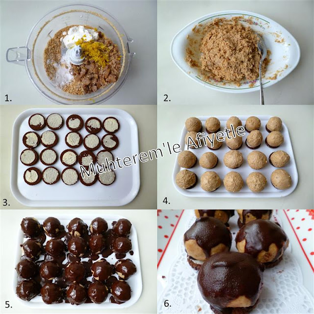 Çikolata kaplı kestaneli bonbon tarifi