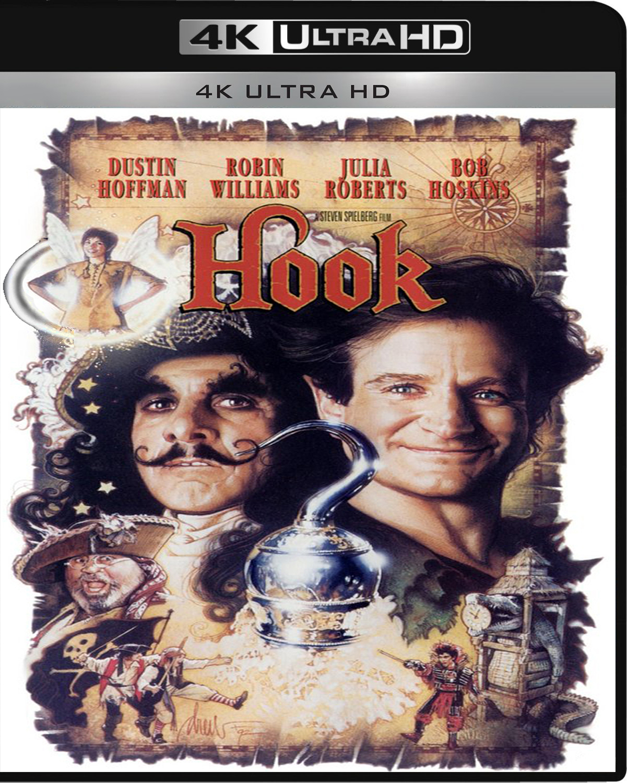 Hook [1991] [UHD] [2160p] [Latino – Castellano]
