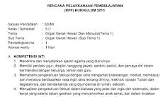 RPP Kelas 5 Tema 1 Kurikulum 2013 Revisi 2018