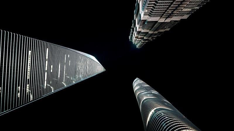 Between Skyscrapers