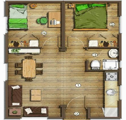 Planos de casas mostrar planos de casas for Planos de casas pequenas en 3d