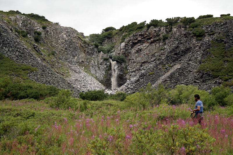 водопад бабав камчатка