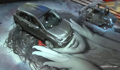 Fiat 500X at Paris Motor Show