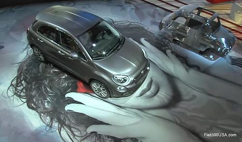 Fiat 500X at Paris Motor Show
