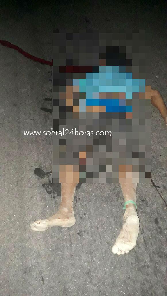 Ônibus com funcionários da grendene atropela e mata mulher na CE 178 em Santana do Acaraú