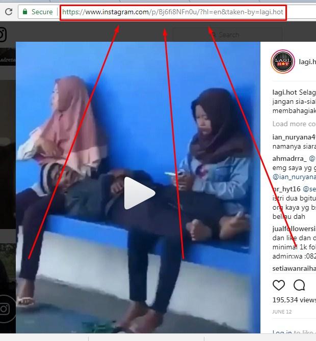 Cara Download Video di Instagram yang Paling Mudah Dengan Downloadgram 2019 ii