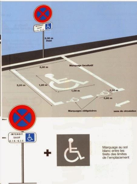 lois et r glements staitionnement pour handicap s. Black Bedroom Furniture Sets. Home Design Ideas