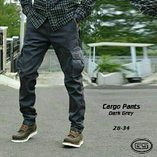 celana cargo, celana cargo pria, celana cargo slim, celana cargo pensil