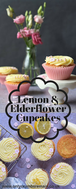Grab the recipe for the Lemon and Elderflower Cupcakes ready to celebrate the forthcoming royal wedding, or simpley to enjoy with friends and family or contributed to a charity bake sale.   They're easy to make and have a lovely delicate flavour.