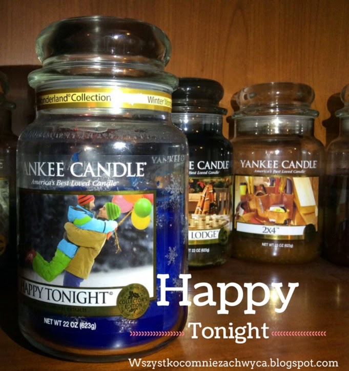 Yanke Candle, Winter Wonderland Collection, Happy Tonight