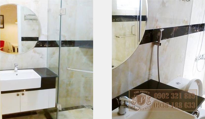 bán căn hộ the prince phú nhuận - nội thất phòng tắm