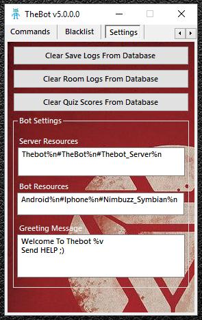 TheBot v5.0.0 Stable Latest Server Bot For Nimbuzz Capture2