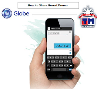 How to Share Gosurf Promo in Globe and TM