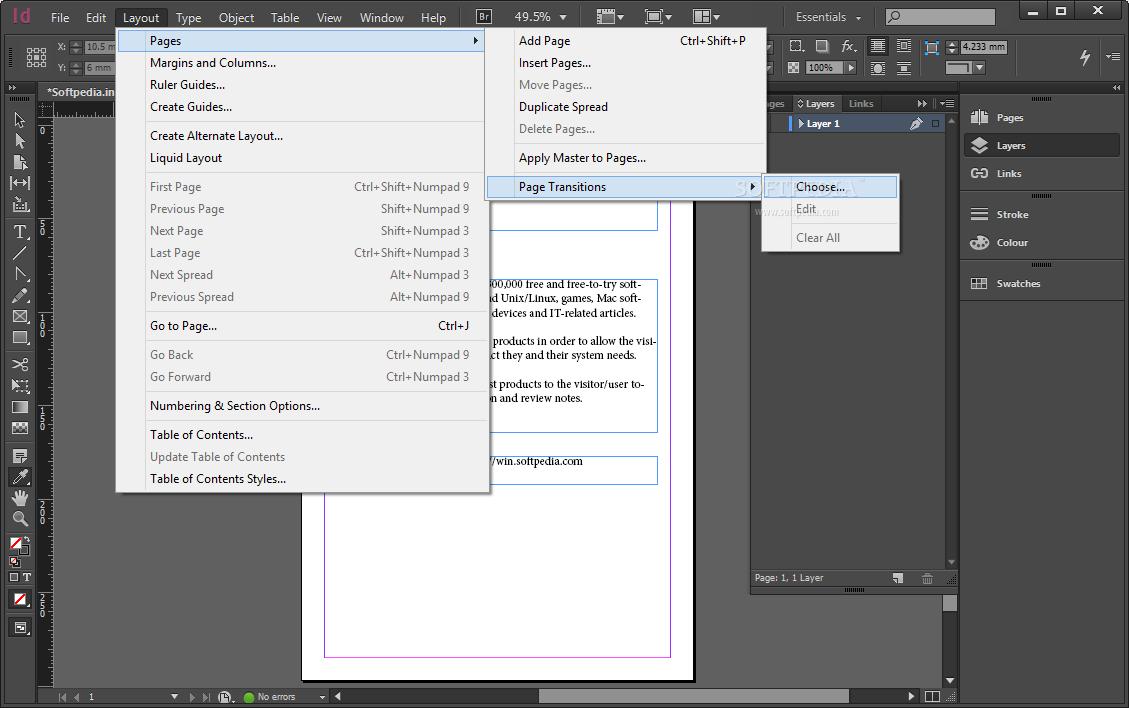 Adobe InDesign CC 2018 v13.1.0.76 multilenguaje, descargar 1 link 2018