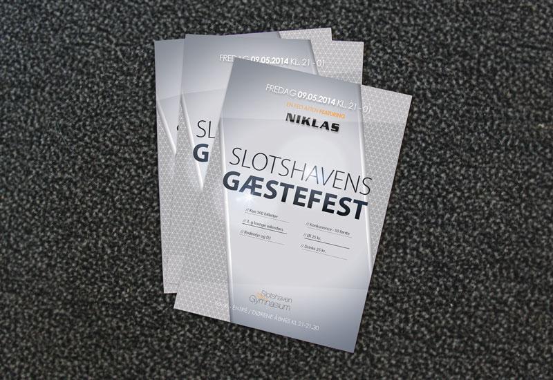 Front Side PSD Flyer Template Mockup, Free flyer mockups