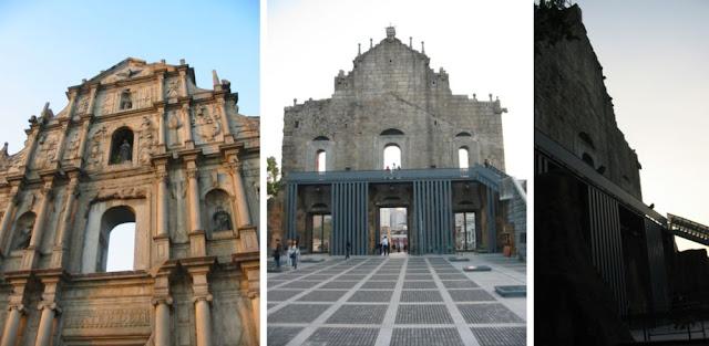 Fassade der Pauluskirche, Macau