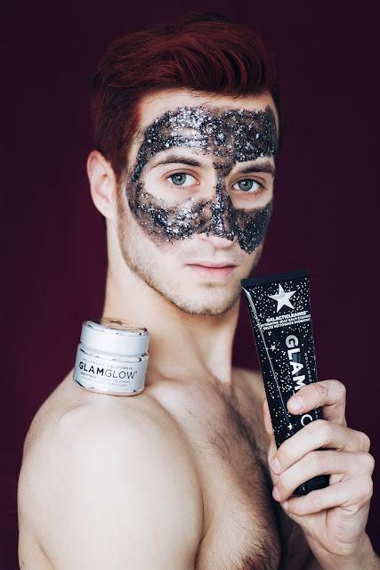 glitter mask glam glow
