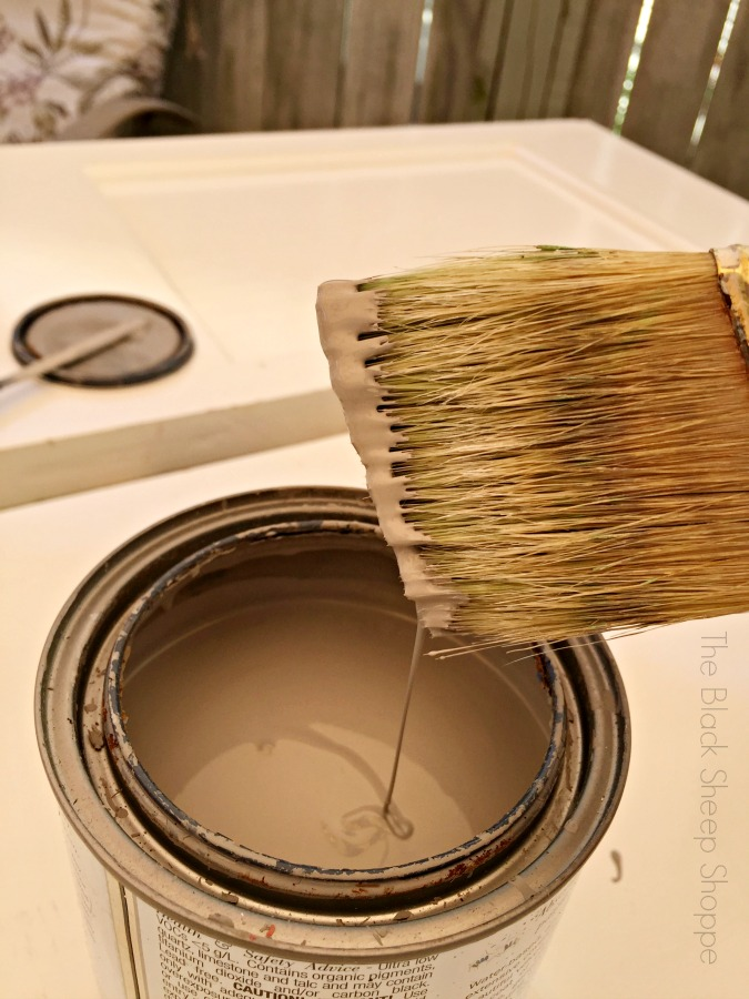 French Linen paint.