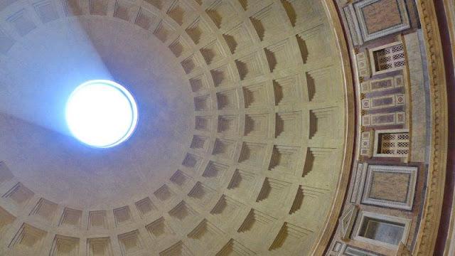 Cúpula del Pantheon en Roma