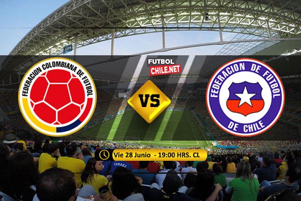 Mira Colombia vs Chile en vivo y online por los Cuartos de Final de la Copa América