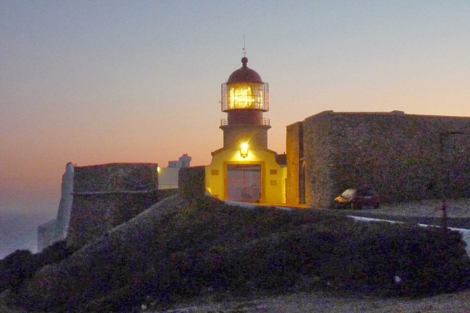 Faro del Cabo de San Vicente.
