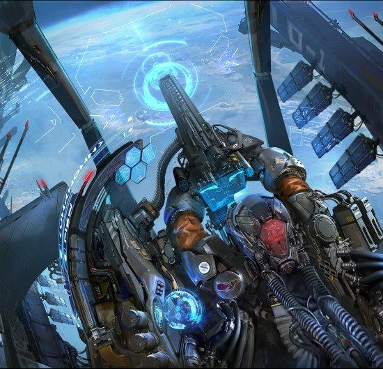 Dante Liu artstation arte ilustrações ficção científica sombria games futurista cyberpunk robôs alienígenas