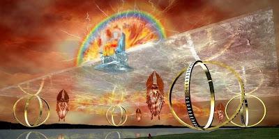 Видение Иезекииля о божьем престоле