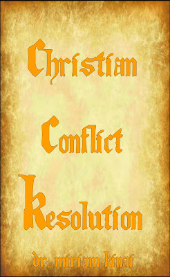 Christian conflict resolution
